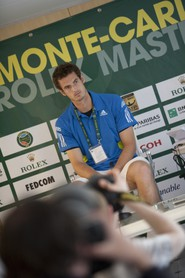 Andy Murray - Conference de presse le 12 avril 2010